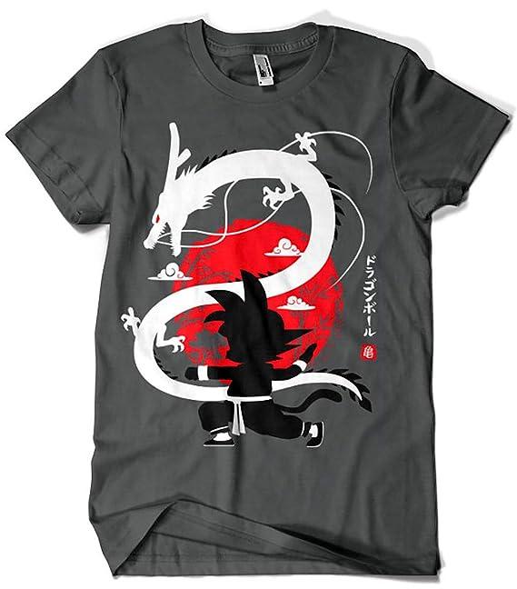 Camisetas La Colmena 4020-Goku Shenron - Dragon Ball (albertocubatas): Amazon.es: Ropa y accesorios