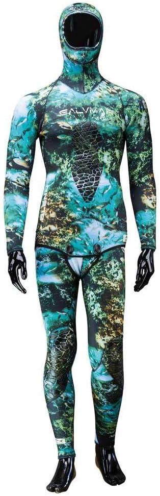 Salvimar サルビマー Seawalker 5,5 mm 2ピース ダイビング ウェットスーツ  Large