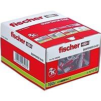 fischer DUOPOWER 6 x 50, universele pluggen, krachtige 2-componenten pluggen, kunststof pluggen voor bevestiging in…