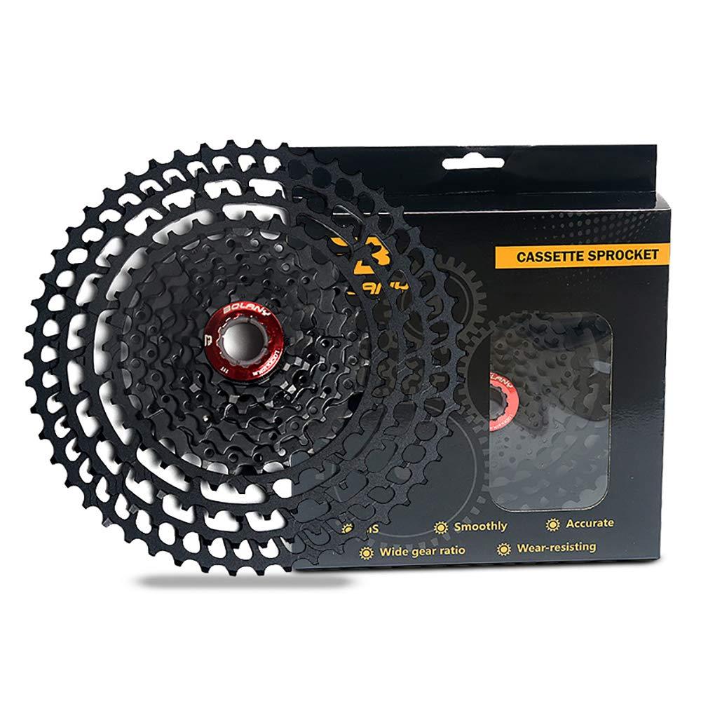 フリーホイールマウンテンバイクMTB自転車カセットカセットスプロケットワイドレシオ互換50T 52T 10/11/12スピードシマノ&SRAMシステム付き 10Speed/50T  B07PTR8RLF