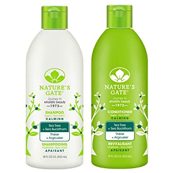 Image result for Nature's Gate Shampoo & Conditioner