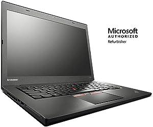 "Lenovo ThinkPad T450 14"" Laptop, Intel Core i5, 8GB RAM, 240GB SSD, Windows 10 Pro (Renewed)"