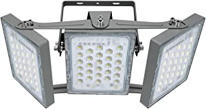 STASUN 150W LED Flood Light, 13500lm Super Bright Outdoor Security Lights with Wider Lighting Angle, 5000K Daylight, IP65 Waterproof Outside Yard Court Stadium Parking Lot Lighting Fixture