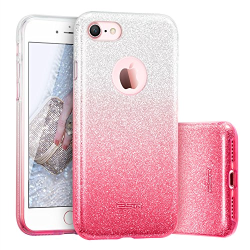 custodia iphone 7 brillantini