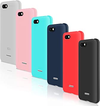 Cintura bebida Juicio  Leathlux [6 Packs] Funda para Xiaomi Redmi 6A, Carcasas Colores Ultra Fina  Silicona TPU Gel Protector Flexible Cover para Xiaomi Redmi 6A: Amazon.es:  Electrónica