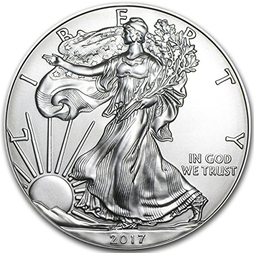 2017 American Eagle Silver Coin 1 oz 999 Fine Silver $1 Brilliant Uncirculated New