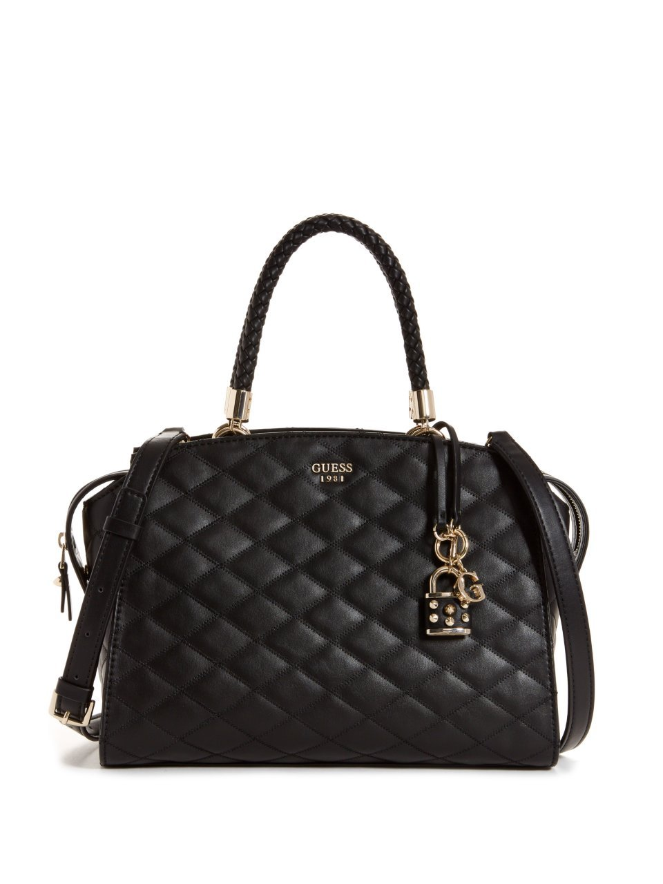 GUESS Penelope Quilted Satchel by GUESS