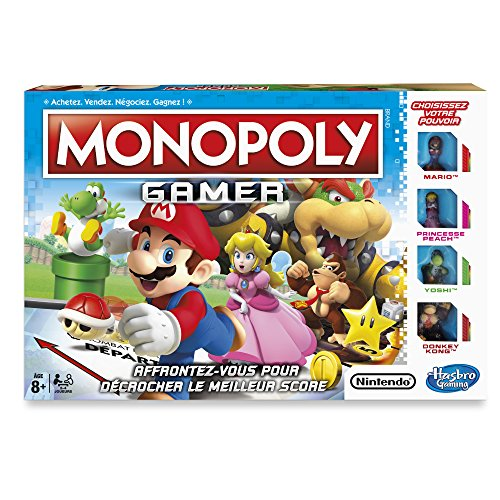 - Hasbro Gaming Monopoly Gamer.