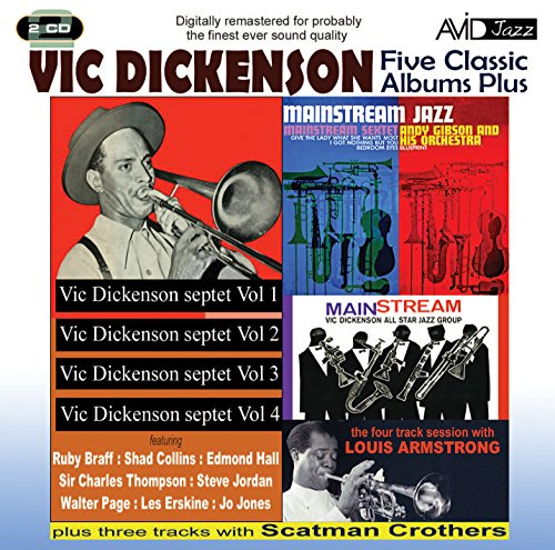 Price comparison product image 5 Classic Albums Plus - Vic Dickenson - Septet 1 & 2 & 3 & 4 / Mainstream Jazz