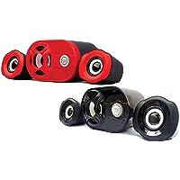 Quantum QHM 6200 USB 2.1 Mini Speaker (Black or red)