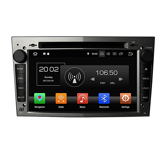 ... Capacitiva 2 DIN Coche Radio Android 8.0 OS para Opel Vectra 2005 2006 2007 2008,1024x600 8 Core 1.5G CPU 4G DDR3 RAM 32G Flash GPS Navi DVD 3G/ WiFi ...