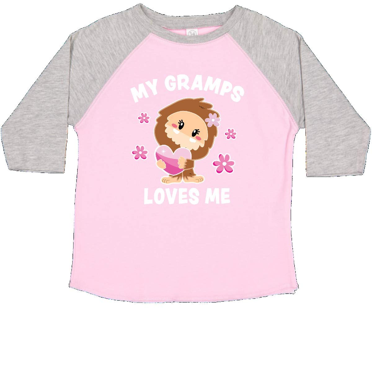 inktastic My Gramps Loves Me with Bigfoot Toddler T-Shirt