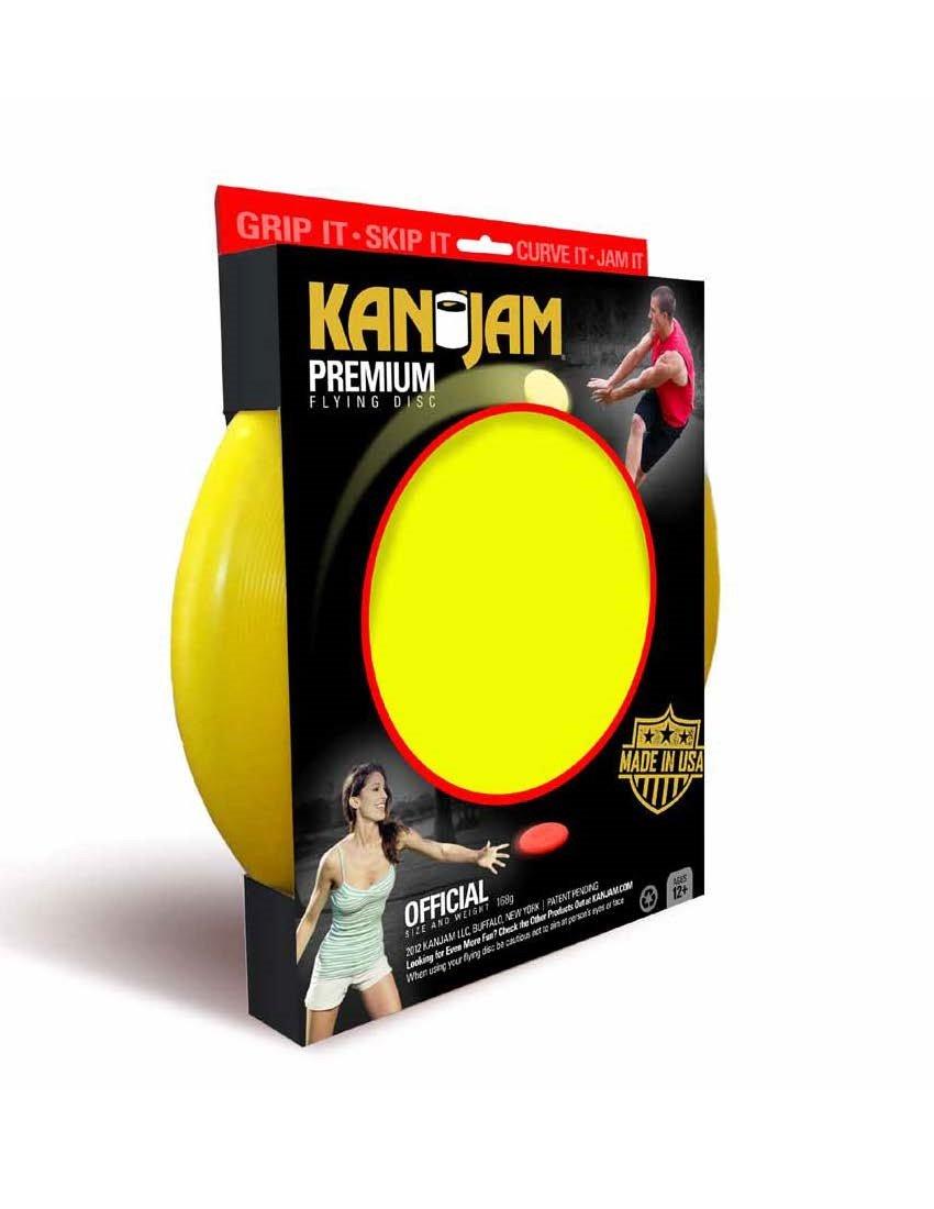 Kan Jam Flying Disc, Yellow by Kan Jam