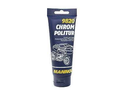 Mannol 9820 Cromo Pulido Pasta Pulido para Cromo & Acero ...