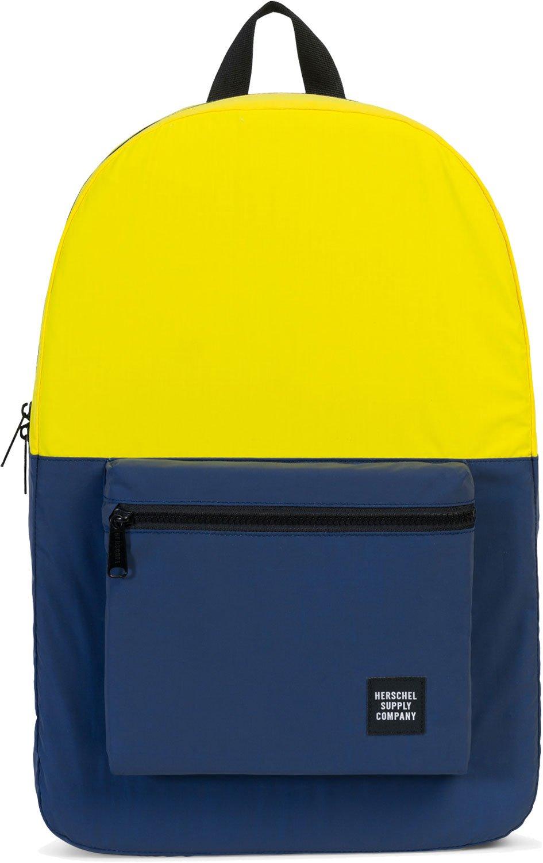 Herschel Daypack Mochila Tela Azul, Amarillo - Mochila para portátiles y netbooks (Tela, Azul, Amarillo, Monótono, Unisex, Bolsillo Frontal, ...