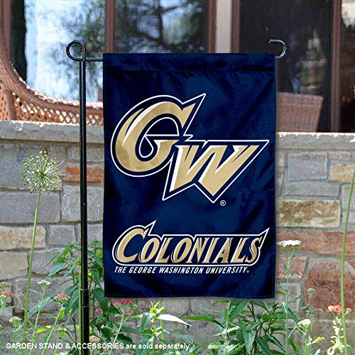 George Washington University Garden Flag and Yard Banner