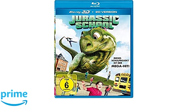 Jurassic School inkl. 2D-Version Alemania Blu-ray: Amazon.es ...
