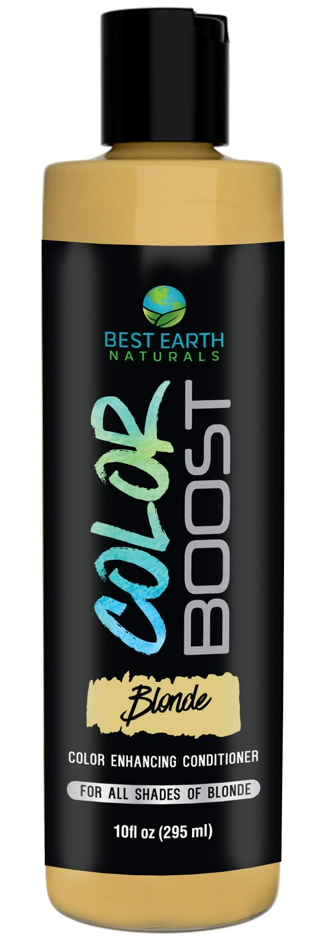 Color Boost Blonde Color Depositing Conditioner for All Shades of Blonde Hair to Add Color or Cover Gray Hair 10 Ounces... by Best Earth Naturals