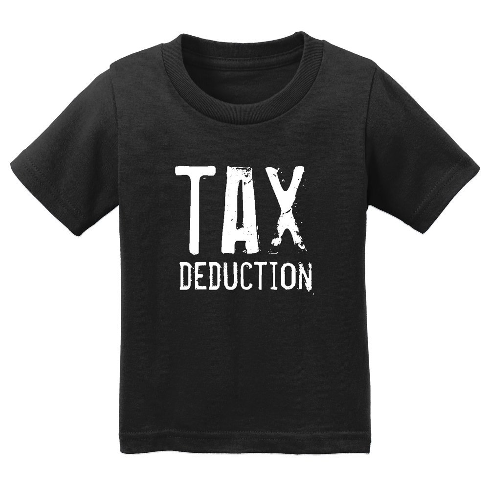 Hardkor Sports Tax Deduction infant Toddler Tee black 4T