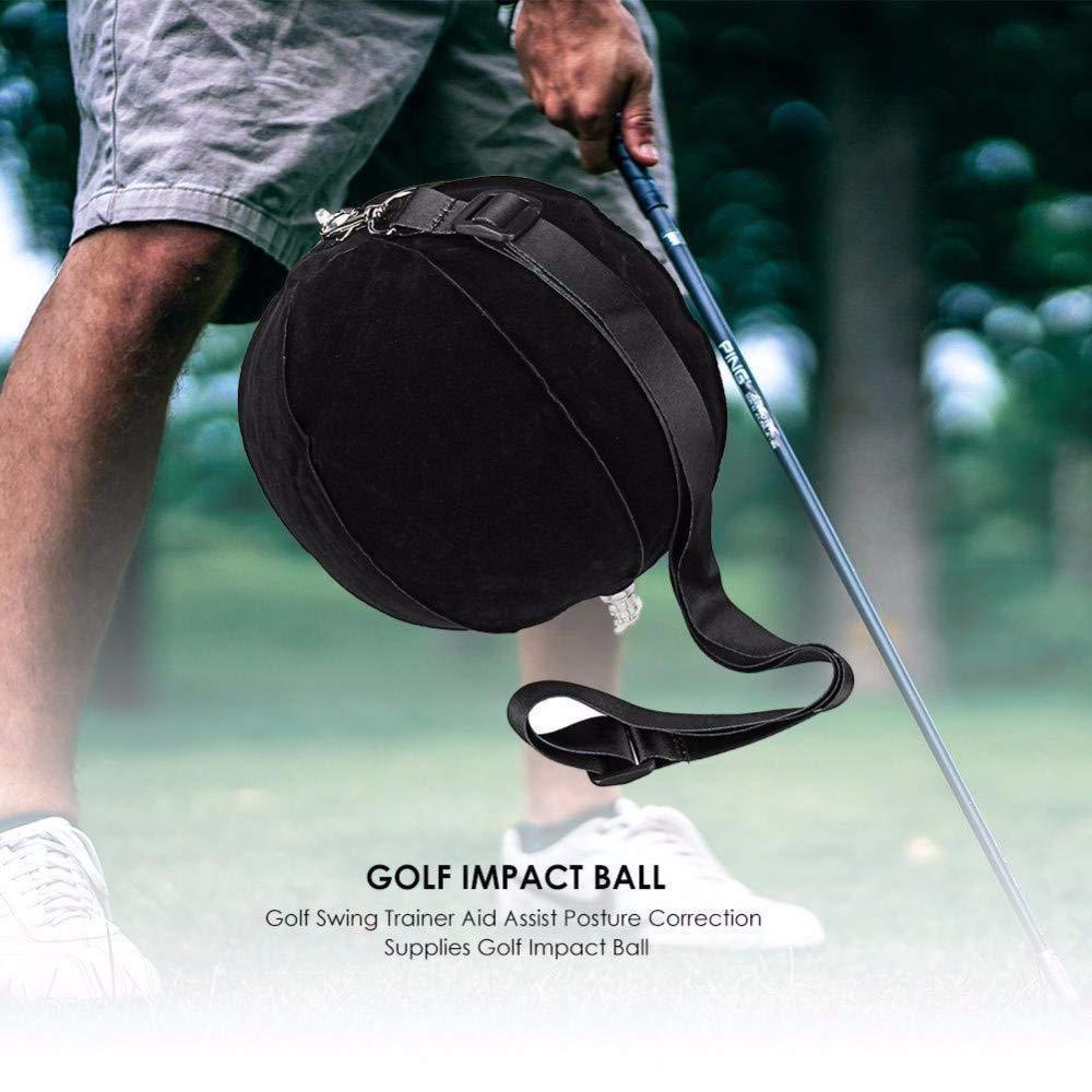 BEAUTPINE Bola de Impacto de Golf Inflable Inteligente Columpio ...