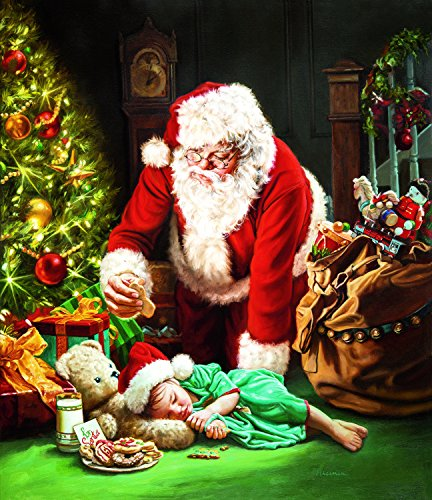 A Cookie for Santa 1000 Piece Jigsaw Puzzle by SunsOut