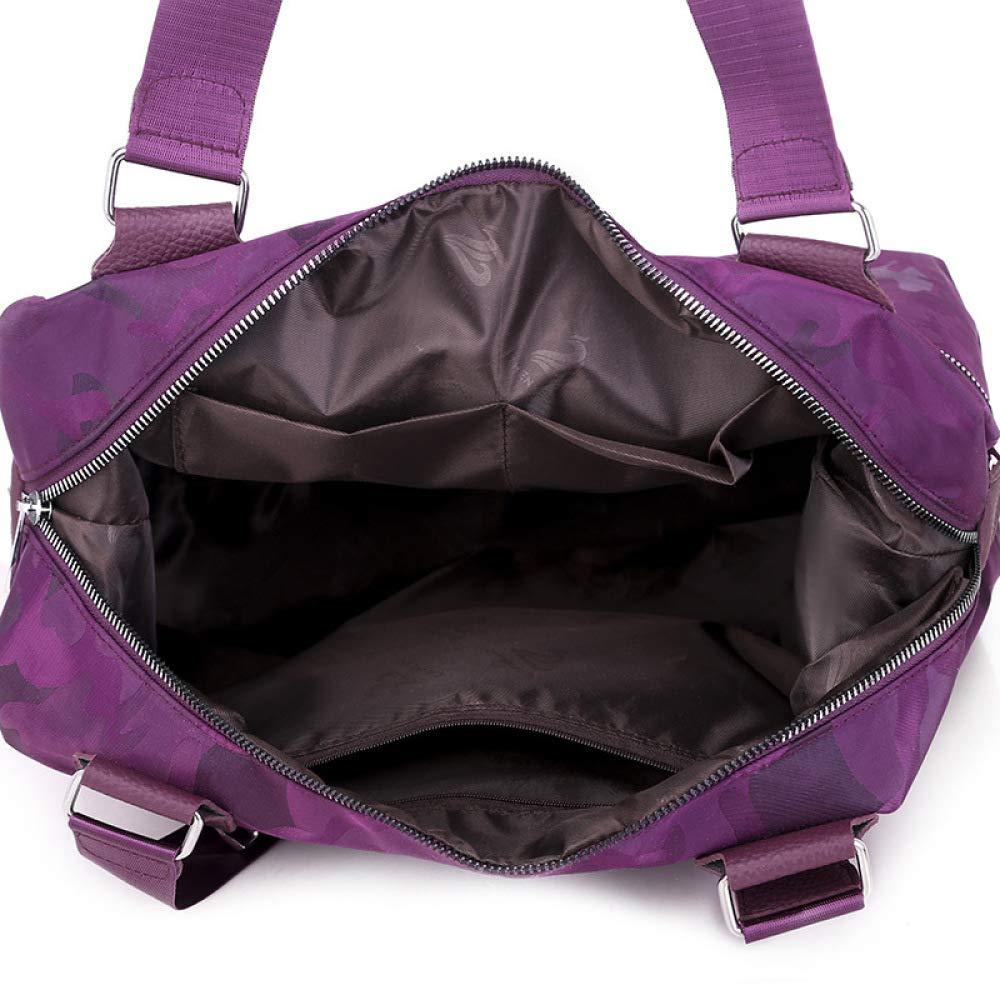 CLBING ny Oxford vattentät dam väska moderiktig vild lätt stor kapacitet tote axel slant tote bag, A c