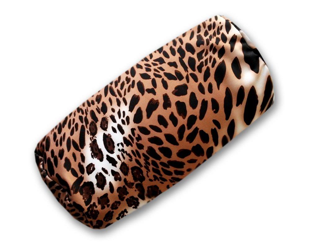 Hochwertiges Softkissen leicht und weich Leoparden Muster Nackenkissen Kissen Leopard sngpl Leopardenkissen Nackenrolle mit Mikroperlen F/üllung
