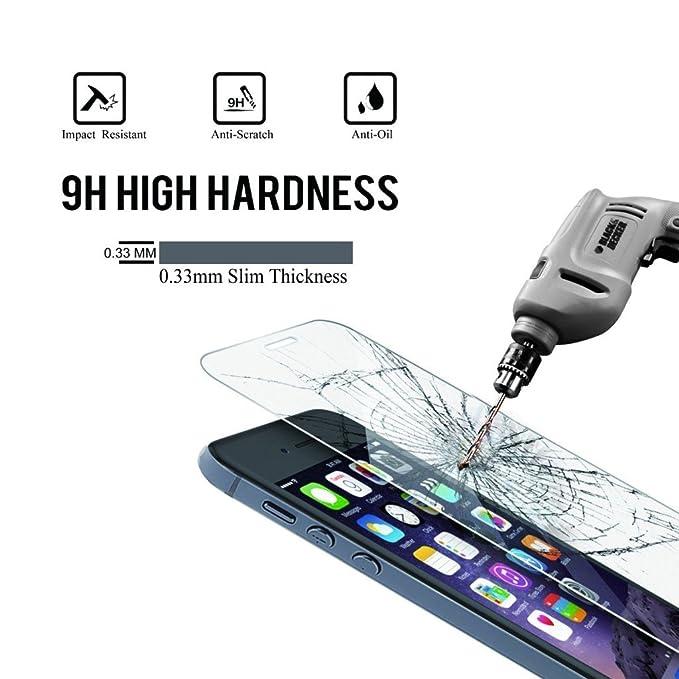 Funnytech@ Protector de Pantalla Transparente para Samsung Galaxy Gear S