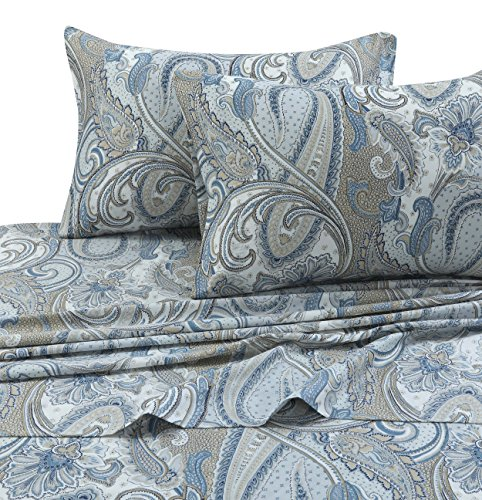TRIBECA LIVING PAPARK4PSSQU Paisley Park 300 TC Cotton Deep