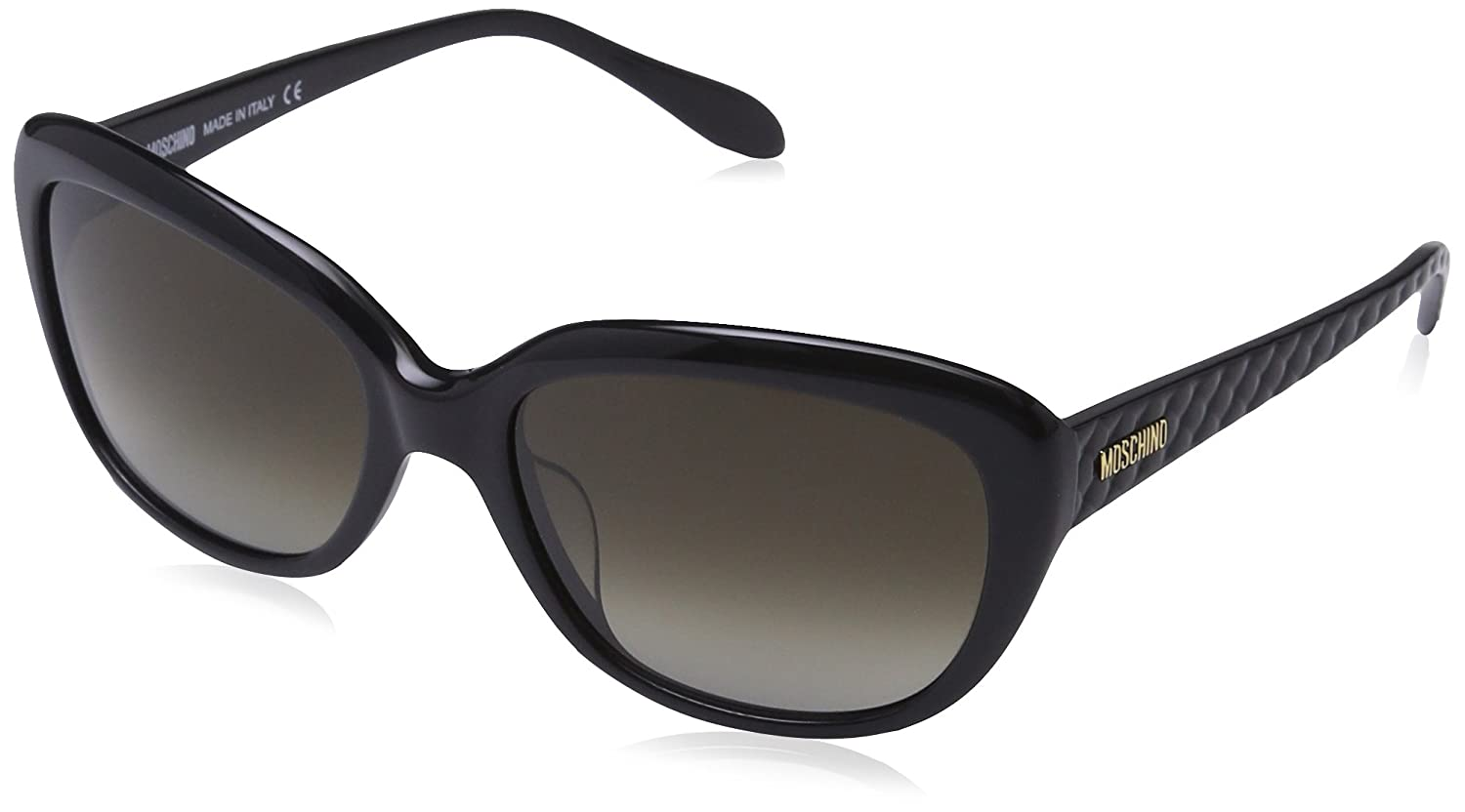 Moschino Damen MO778S Cateye Sonnenbrille, Gr. One Size, Turquoise