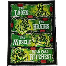 The Philly Crew Parody Design - Novelty Iron On Patch Applique