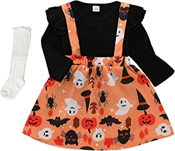 New Fall Baby Toddler Girl Outfit Pumpkin 12 thru 4T First Thanksgiving Turkey