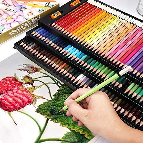 Pencil Crayons|36/48/72/120 Soft Colors Colored Pencils 150 Lapis de cor, Color Pencil Set, Color Pencil School Supplies, Pencil Case Wood, Pencil Crayons for Kids, Paquetes De Lapices |by EGALIVE