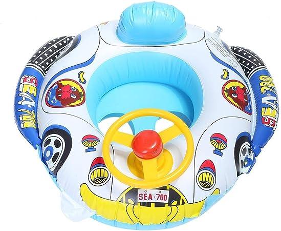 Flotador para bebé, Patrón de dibujos animados Anillo de natación ...