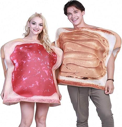 WSJ Disfraz de Halloween para Parejas, Jam Couples Dress Disfraz ...