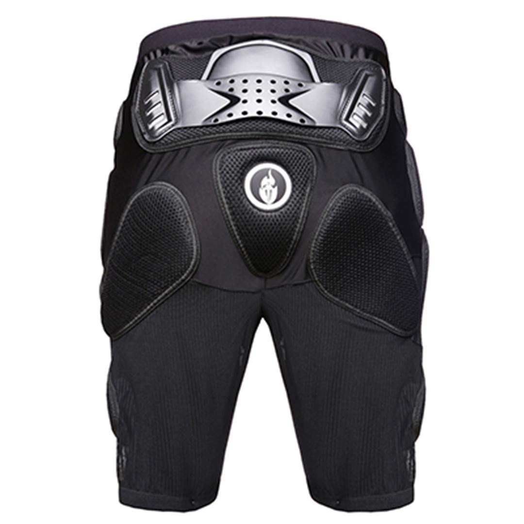 Motorcycle Jacket Armor Sets Body Protective Gears Gloves Short Hip Pad Protective Knee Pad Set Motocross Body Armor Short M