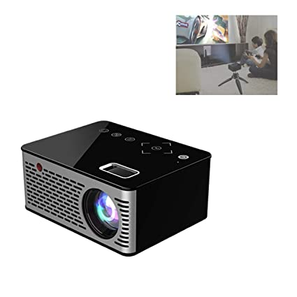 Amazon.com: LiChenYao T200 Mini proyector portátil Home HD ...