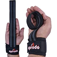 APRODO Weight Lifting BAR Straps,Body Building,Gym Wrist Support Non-Slip