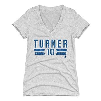 0c6495e2 Amazon.com: 500 LEVEL Justin Turner Women's Shirt - Los Angeles ...