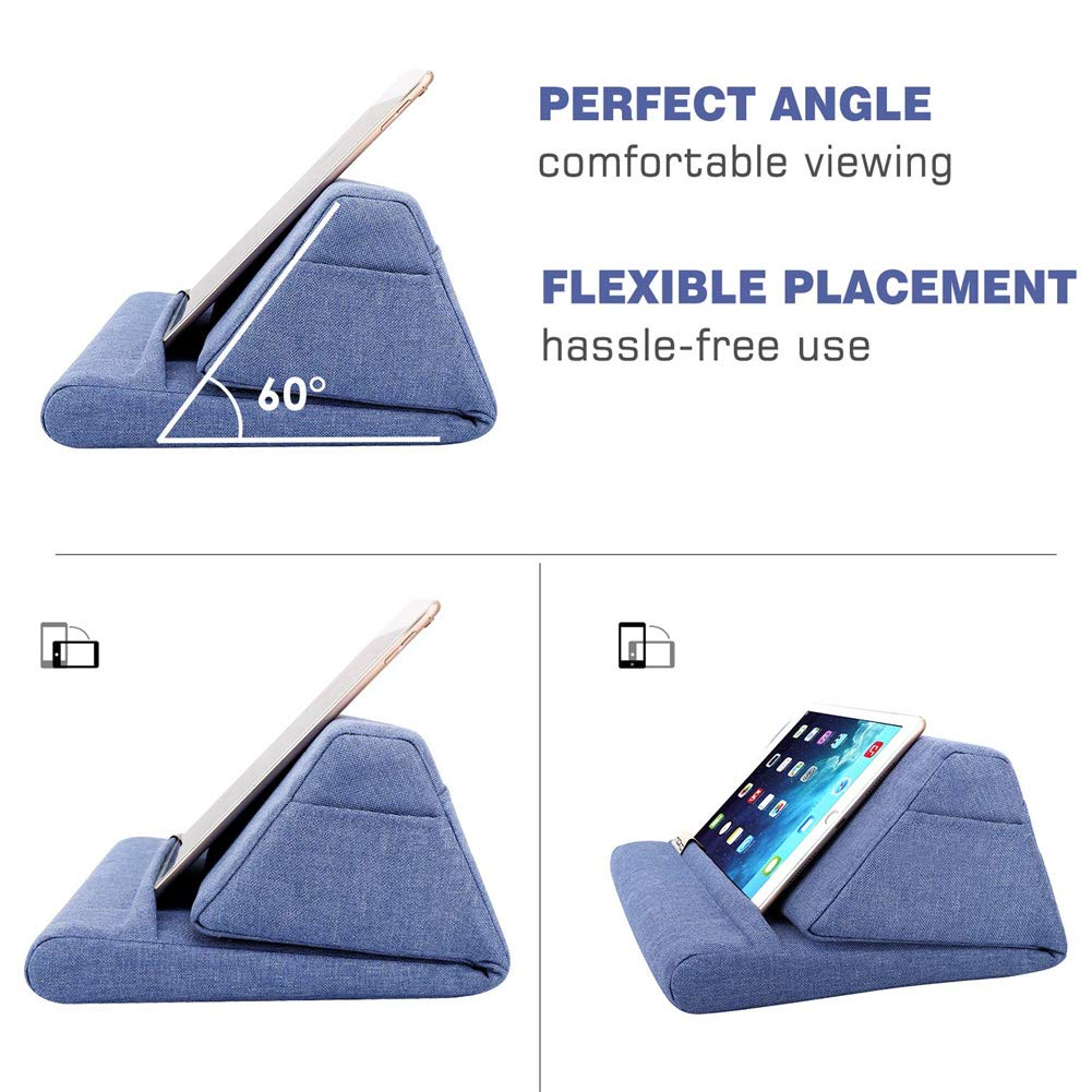 Tablet Pillow Stand PadPillow Pillow Stand Soft Bed Pillow Holder For Your Pad E-book Reader And Tablet for Reading in Bed for All Ages