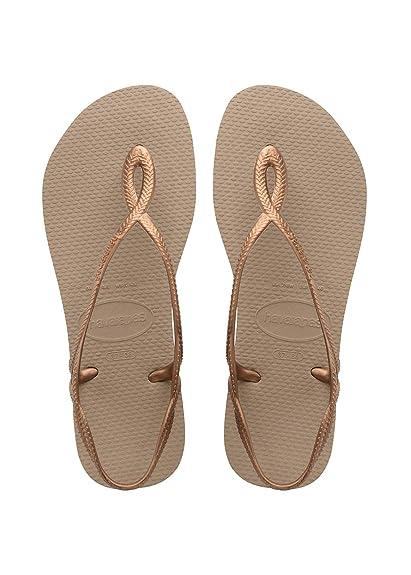 online store 63173 225fb Havaianas Mädchen Luna Sandalen: Amazon.de: Schuhe & Handtaschen