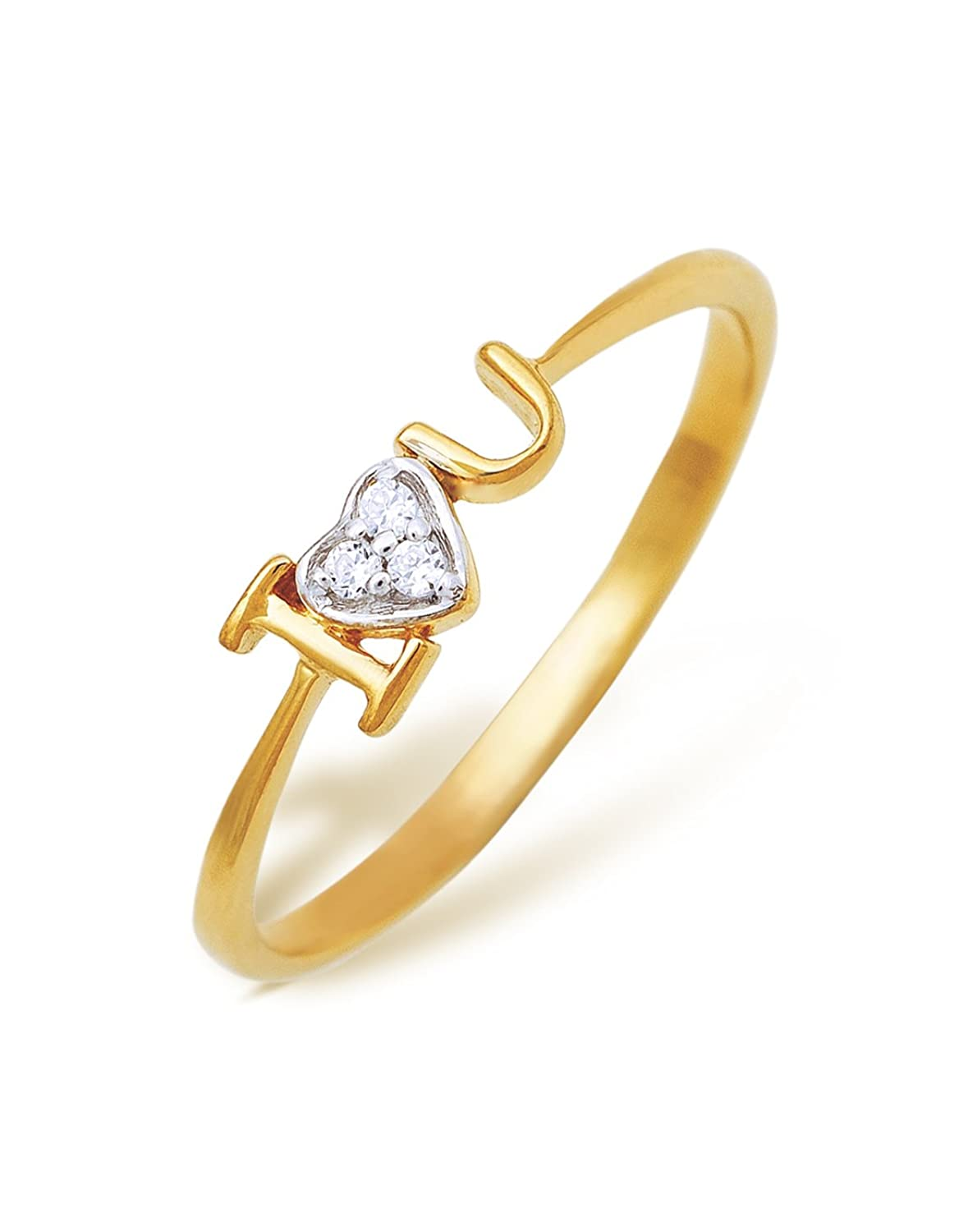 karat multi jewellery total carat yellow products set row weight the pave graduate graduation hand ring with gold