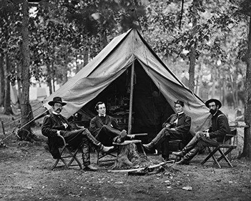 Photo Print 16x20: Brandy Station, Va. Col. George H. Sharpe, John G. Babcock...
