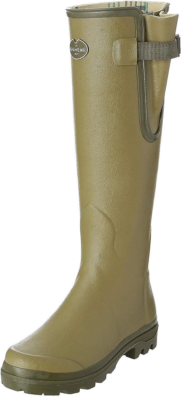Le Chameau Vierzon Jersey Ld, Bottes femme Vert (Vert Vierzon), 38 EU