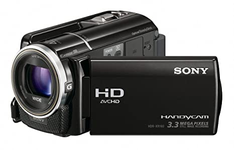 Sony HDR-XR160E - Videocámara (3 MP, CMOS, 25,4/4 mm (1/4