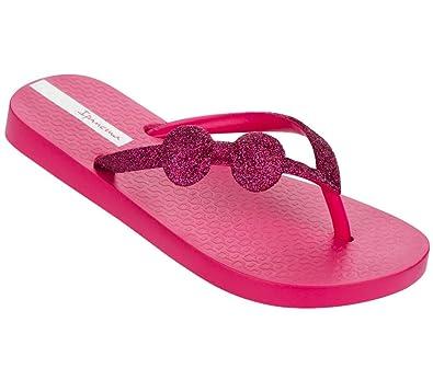 6ead260da2ed Ipanema Girls Lolita II Glitter Bow Flip Flops (8UK