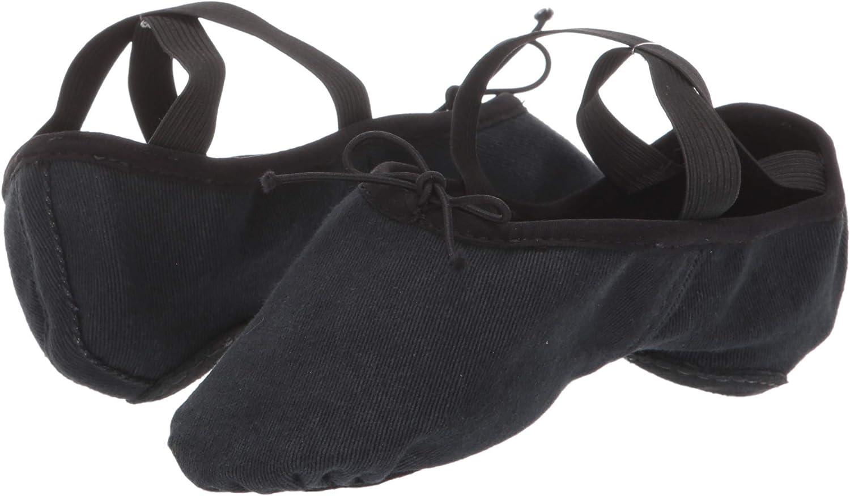 Pantofola da donna in tela elasticizzata Bloch Dance
