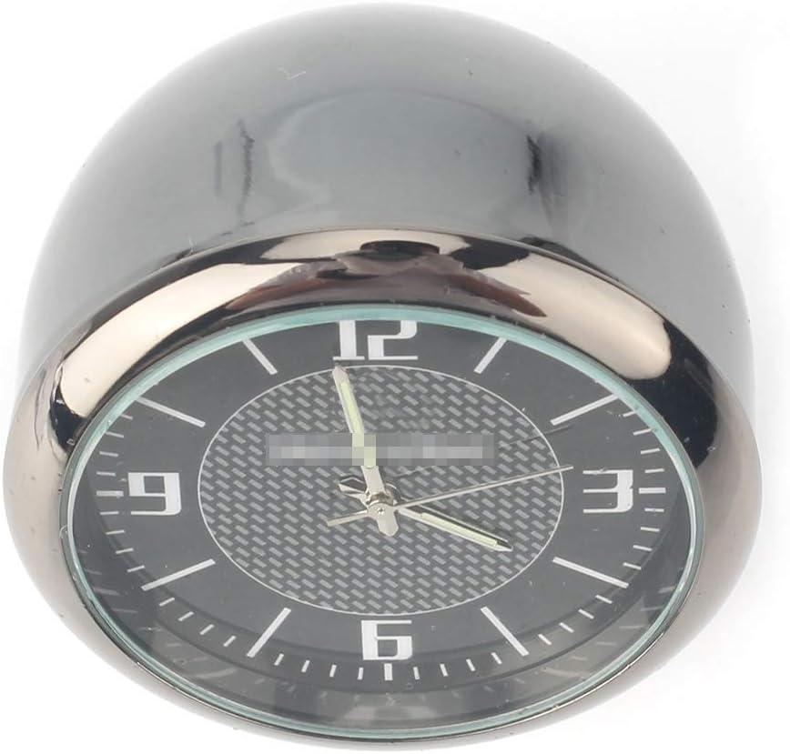 GZYF Car Onboard Kleine runde Uhrentabelle Runde klassische analoge Quarzuhr