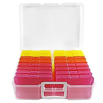 Amazon.com: Novelinks - Caja de plástico transparente para ...