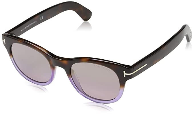 Tom Ford Sonnenbrille FT0531 56Z 49 Gafas de sol, Multicolor ...